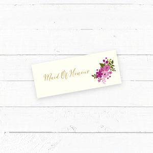 Happily Ever After Tent Fold Wedding Place Card