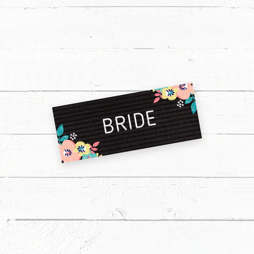 Letterboard Love Wedding Tent Fold Place Cards