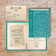 Load image into Gallery viewer, Love Story Storybook Wedding Invitation