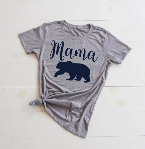 MAMA BEAR Fitted Tee