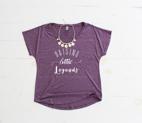 RAISING LITTLE LEGENDS Flowy Tee