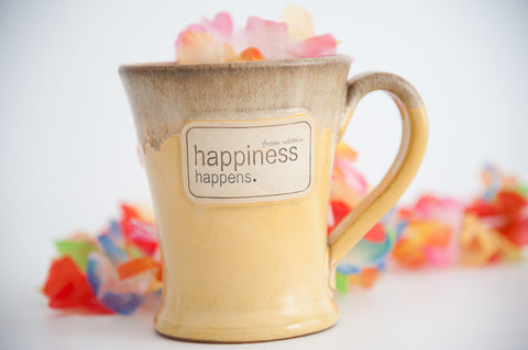 Happiness Handcrafted Mug