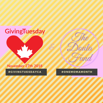 Giving Tuesday and The Doula Fund