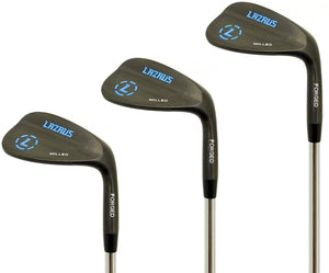 Lazrus Wedges or Iron Sets (Never Used/Scratched, Light Use, Heavy Use)