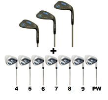 Wedge Set + Irons Set (4-PW, Right Hand) | LAZRUS Golf