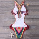 Boho Slim Monokini,Monokini,YOUR WISH LIST