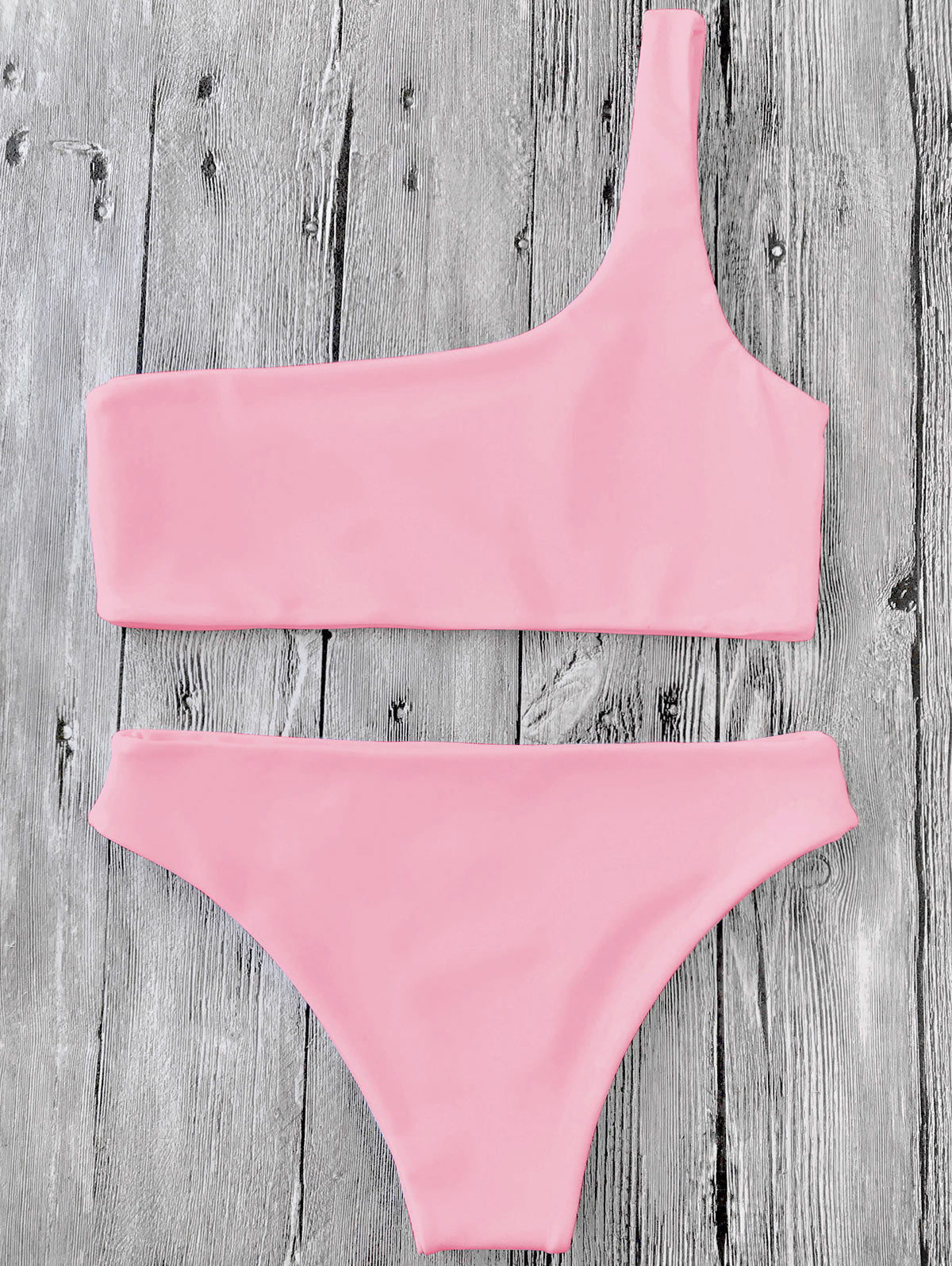 One Shoulder Bikini,Bandeau Bikinis,YOUR WISH LIST