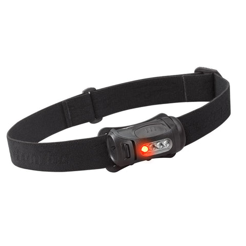 Princeton Tec FRED 45 Lumen LED Headlamp w-Red LED - Black