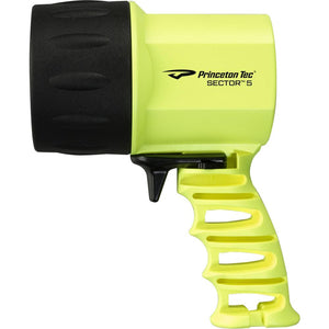 Princeton Tec Sector 5 LED Spotlight - Neon Yellow