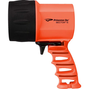 Princeton Tec Sector 5 LED Spotlight - Orange