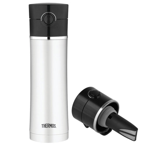 Thermos Stainless Steel, Vacuum Insulated Drink Bottle w-Tea Infuser - 16 oz.