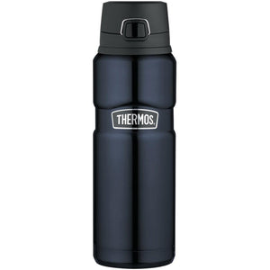 Thermos Stainless King™ Stainless Steel, Vacuum Insulated Drink Bottle - Midnight Blue - 24 oz.