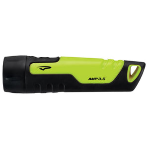 Princeton Tec Amp 3.5, 170 Lumen Handheld LED Flashlight - Neon Yellow-Black