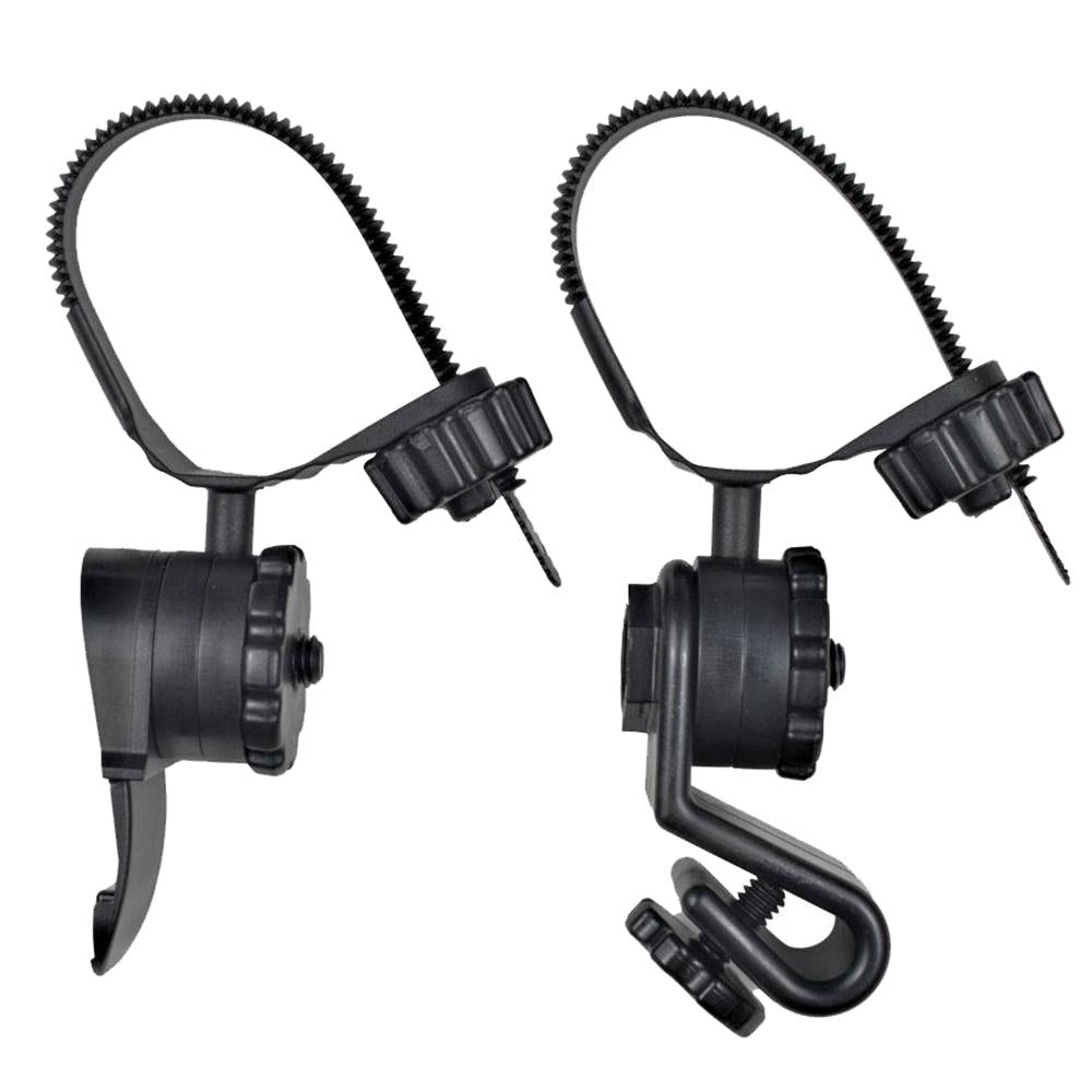 Princeton Tec Hard Hat Light Mounts - Black