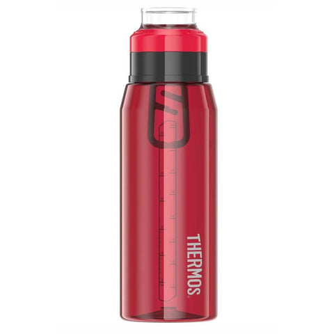 Thermos Hydration Bottle w-360° Drink Lid - 32oz - Cranberry