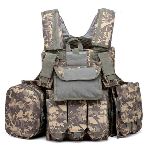 Image of Tactical Hunting Vest-Hunting & Fishing Stuff-ACU-One Size-Hunting & Fishing Stuff
