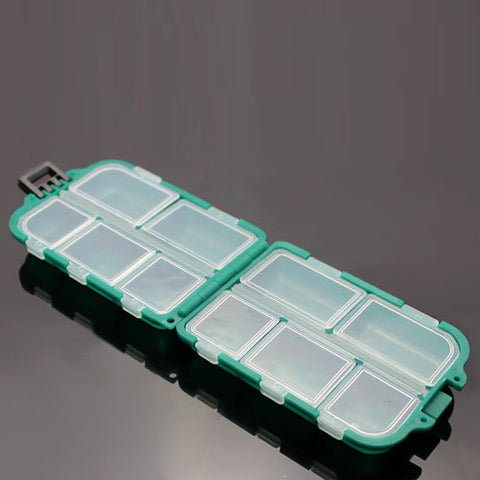 10 Grid Fishing Tackle Box-Hunting & Fishing Stuff-Hunting & Fishing Stuff