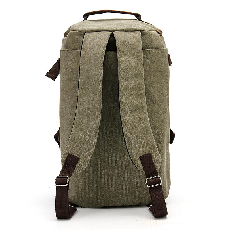 Canvas Duffel Backpack Camping-outdoor sports-Hunting & Fishing Stuff-Denim Blue-China-Hunting & Fishing Stuff