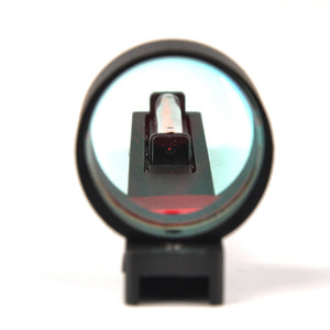 Red Fiber Red Holographic Scope Sight Dot Sight For Shotgun Rib Rail
