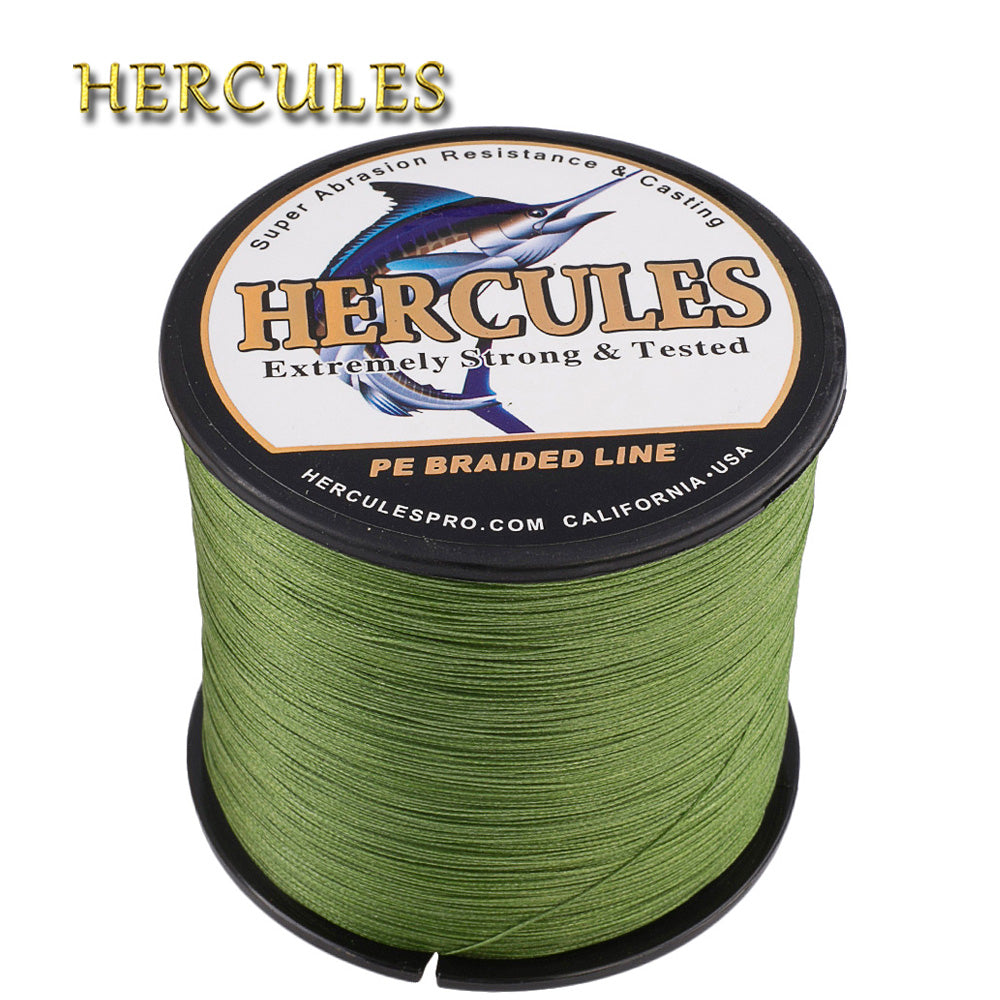 Hercules Fishing Line 8 Strands Braided Carp Fishing Line 10LB-300LB-outdoor sports-Hunting & Fishing Stuff-500M-12.0-United States-Hunting & Fishing Stuff
