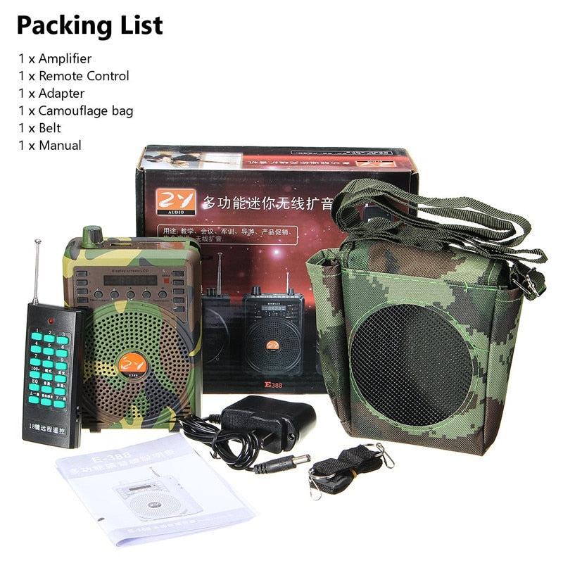 Electric Hunting Decoy Speaker Bird Caller-outdoor sports-Hunting & Fishing Stuff-China-Hunting & Fishing Stuff
