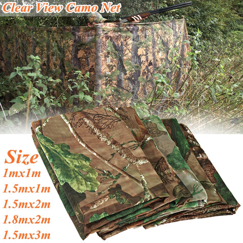 New 5 Different Size Multifunction Camo Net Blind Netting Birds Decoy-outdoor sports-Hunting & Fishing Stuff-1.5x3m-United States-Hunting & Fishing Stuff