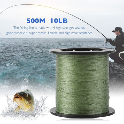 500M 10L PE Braided Fishing Line Multifilament-outdoor sports-Hunting & Fishing Stuff-120LB-United States-Hunting & Fishing Stuff