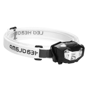 3 LED Motion Sensing Headlamp