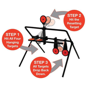 Metal Shooting Practice Automatic Reset Target-outdoor sports-Hunting & Fishing Stuff-Hunting & Fishing Stuff