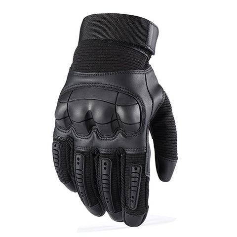 Touch Screen Outdoor Tactical Hard Knuckle Full Finger Gloves Shooting Hunting Hiking Glove-outdoor sports-Hunting & Fishing Stuff-Black-S-United States-Hunting & Fishing Stuff