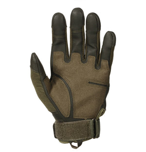 Touch Screen Outdoor Tactical Hard Knuckle Full Finger Gloves Shooting Hunting Hiking Glove-outdoor sports-Hunting & Fishing Stuff-Green-S-United States-Hunting & Fishing Stuff