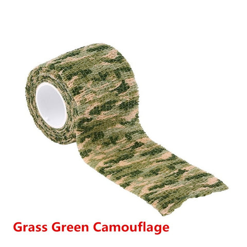 Image of 5cmx4.5m Army Camouflage Hunting Tape-Hunting & Fishing Stuff-Grass Green Camoufla-Hunting & Fishing Stuff