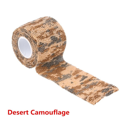 5cmx4.5m Army Camouflage Hunting Tape-Hunting & Fishing Stuff-Desert Camouflage-Hunting & Fishing Stuff