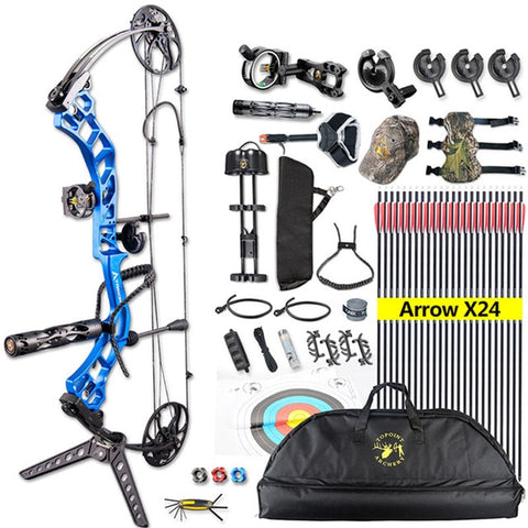 Compound Bow-outdoor sports-Hunting & Fishing Stuff-United States 2-As the picture shows-Hunting & Fishing Stuff