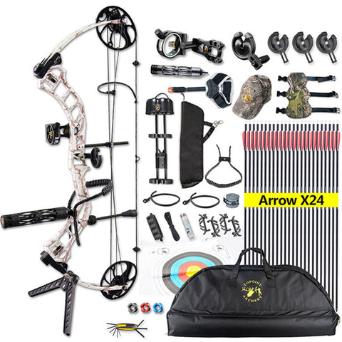 Compound Bow-outdoor sports-Hunting & Fishing Stuff-United States 4-As the picture shows-Hunting & Fishing Stuff