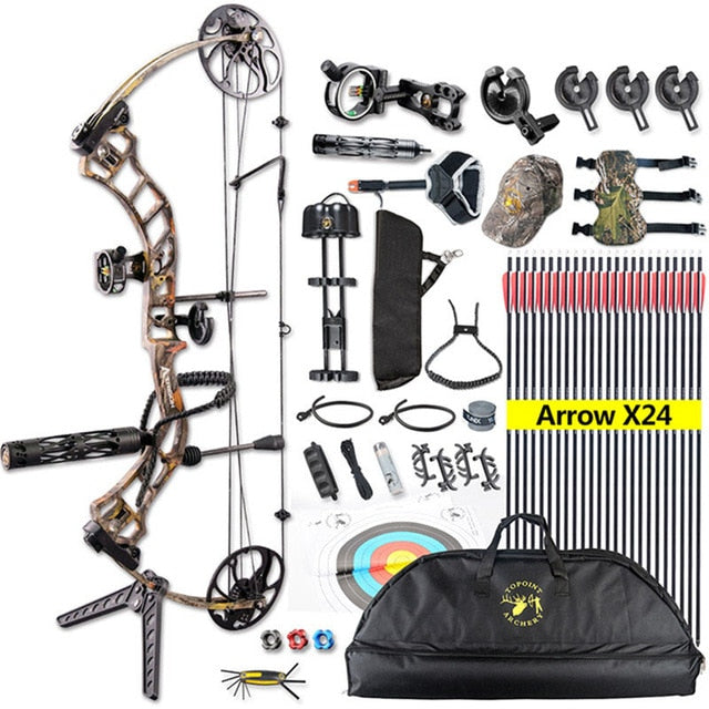Compound Bow-outdoor sports-Hunting & Fishing Stuff-United States 5-As the picture shows-Hunting & Fishing Stuff