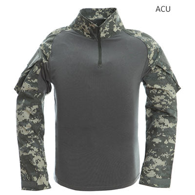 Image of Tactical T-shirt Men Army Camouflage T Shirt Long Sleeve T-shirts Men Outdoor Fishing Hunting Shirts Cotton-outdoor sports-Hunting & Fishing Stuff-Acu-XXL-United States-Hunting & Fishing Stuff