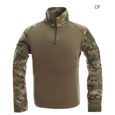 Image of Tactical T-shirt Men Army Camouflage T Shirt Long Sleeve T-shirts Men Outdoor Fishing Hunting Shirts Cotton-outdoor sports-Hunting & Fishing Stuff-CP-XXL-United States-Hunting & Fishing Stuff