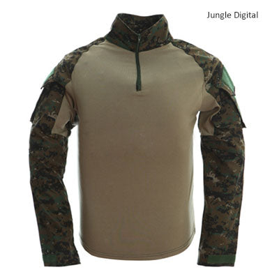 Image of Tactical T-shirt Men Army Camouflage T Shirt Long Sleeve T-shirts Men Outdoor Fishing Hunting Shirts Cotton-outdoor sports-Hunting & Fishing Stuff-Jungle-XXL-United States-Hunting & Fishing Stuff