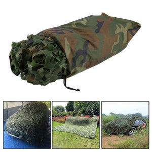 4X5M Large Size Jungle Camouflage Net Beach Tent Hunting Camping Military Camouflage Netting Sun Shelter Outdoor Car Shade Cover