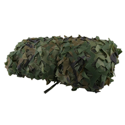 4X5M Large Size Jungle Camouflage Net Beach Tent Hunting Camping Military Camouflage Netting Sun Shelter Outdoor Car Shade Cover-outdoor sports-Hunting & Fishing Stuff-Hunting & Fishing Stuff