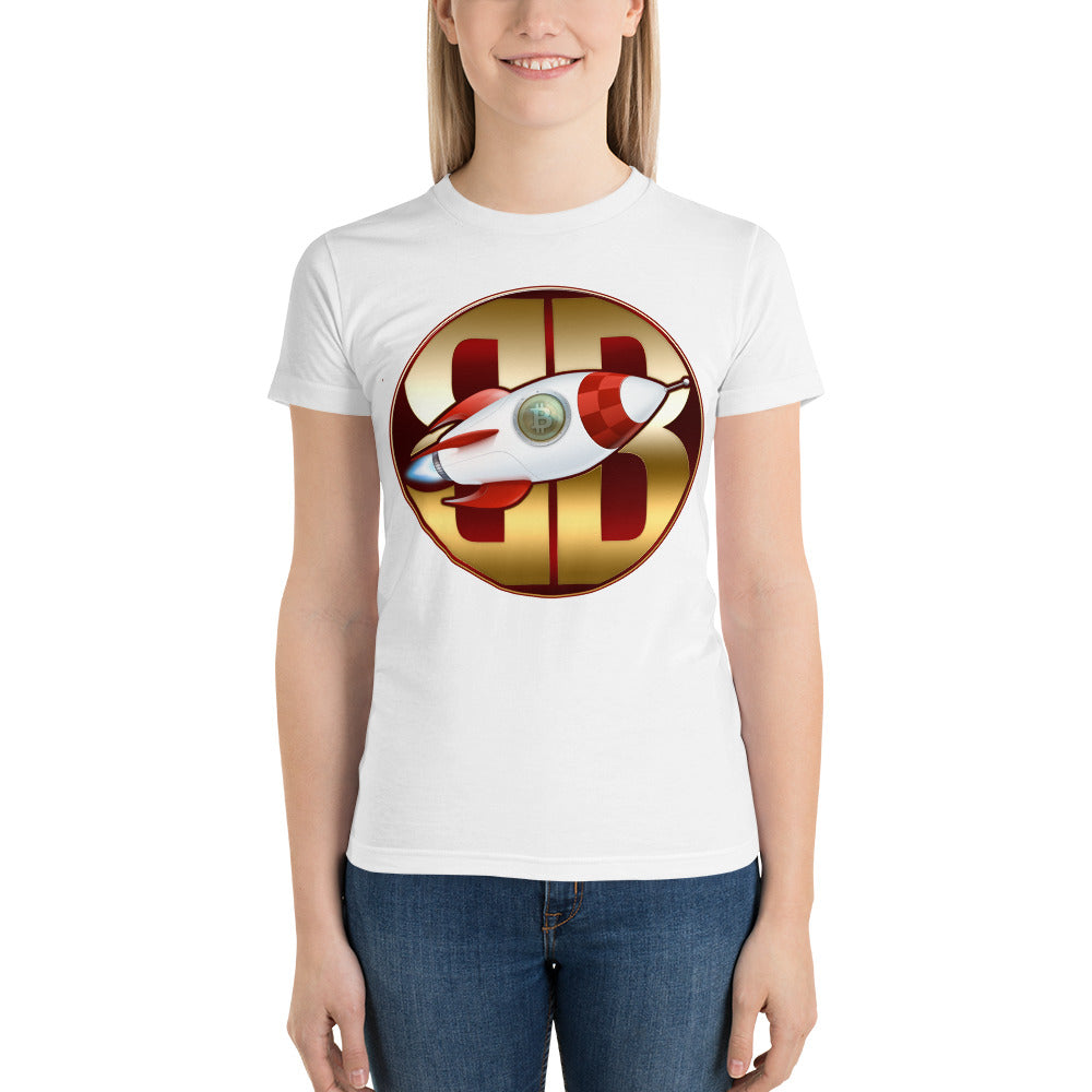 BitBlaster Coin Logo Womens Short sleeve women's t-shirt