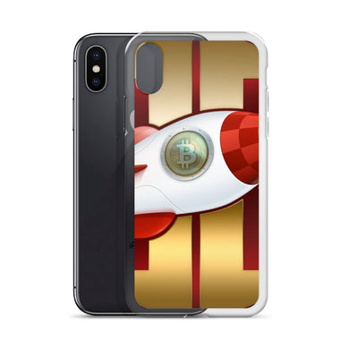 BitBlaster Coin Logo iPhone Cases