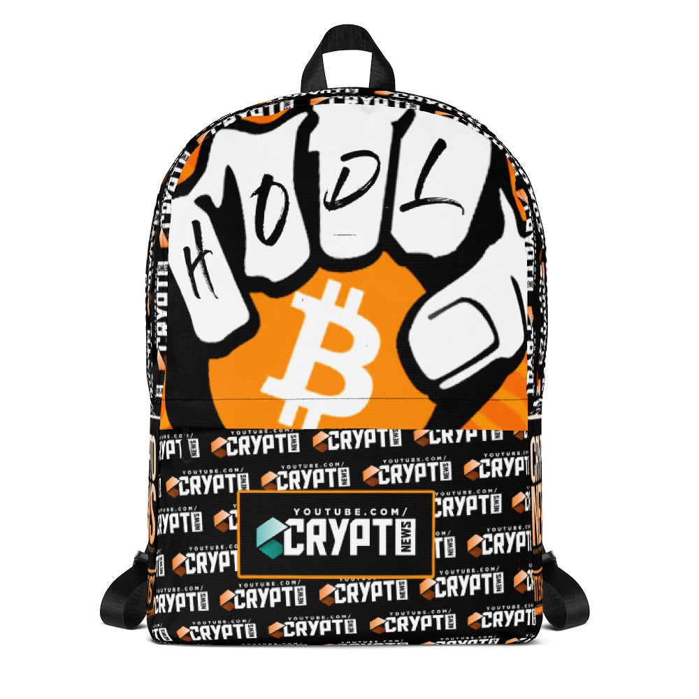 Crypto News HODL Backpack