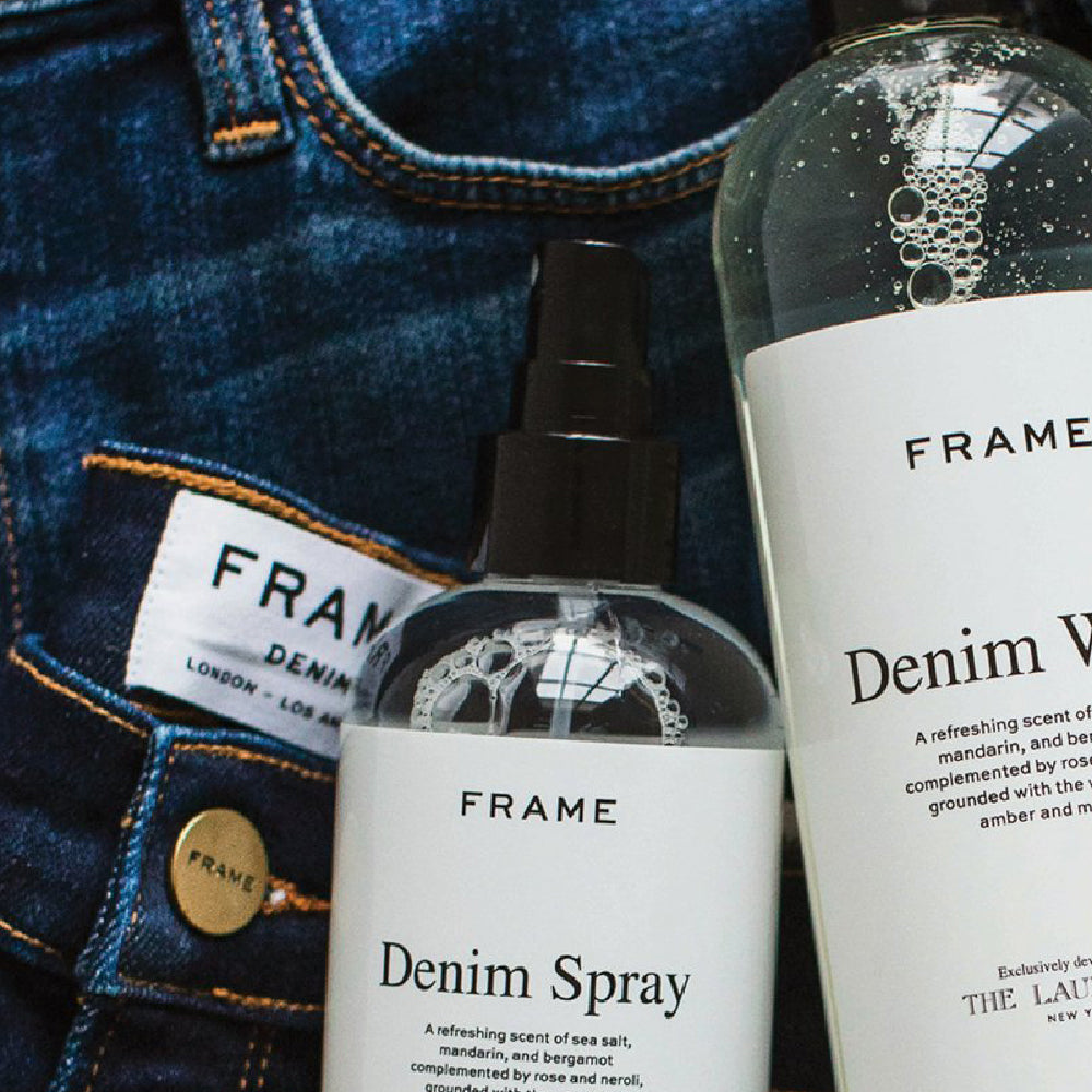 FRAME x The Laundress