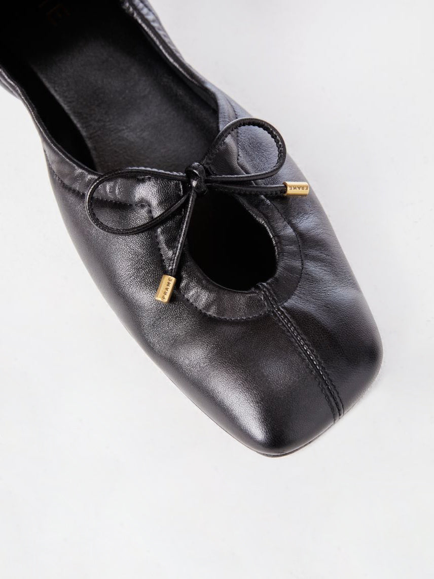 Le Sunset Slipper -- Noir