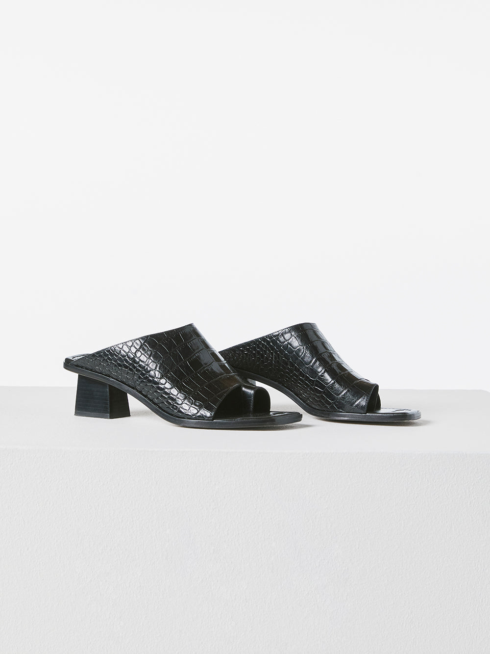 Le Beachwood Slide -- Noir Croco