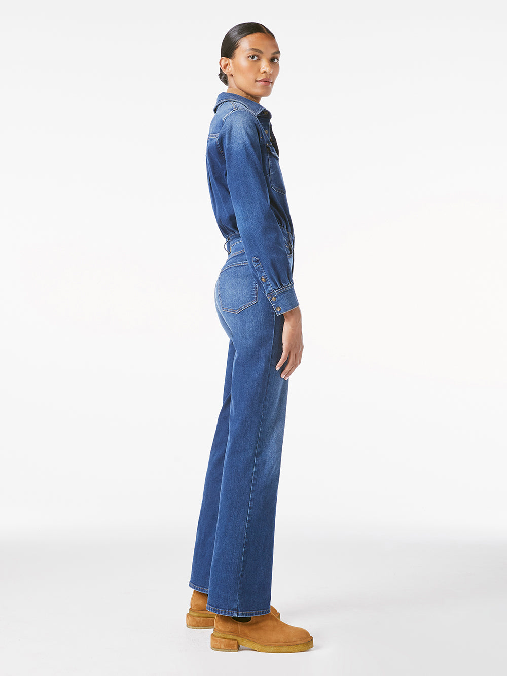 jumpsuit side view