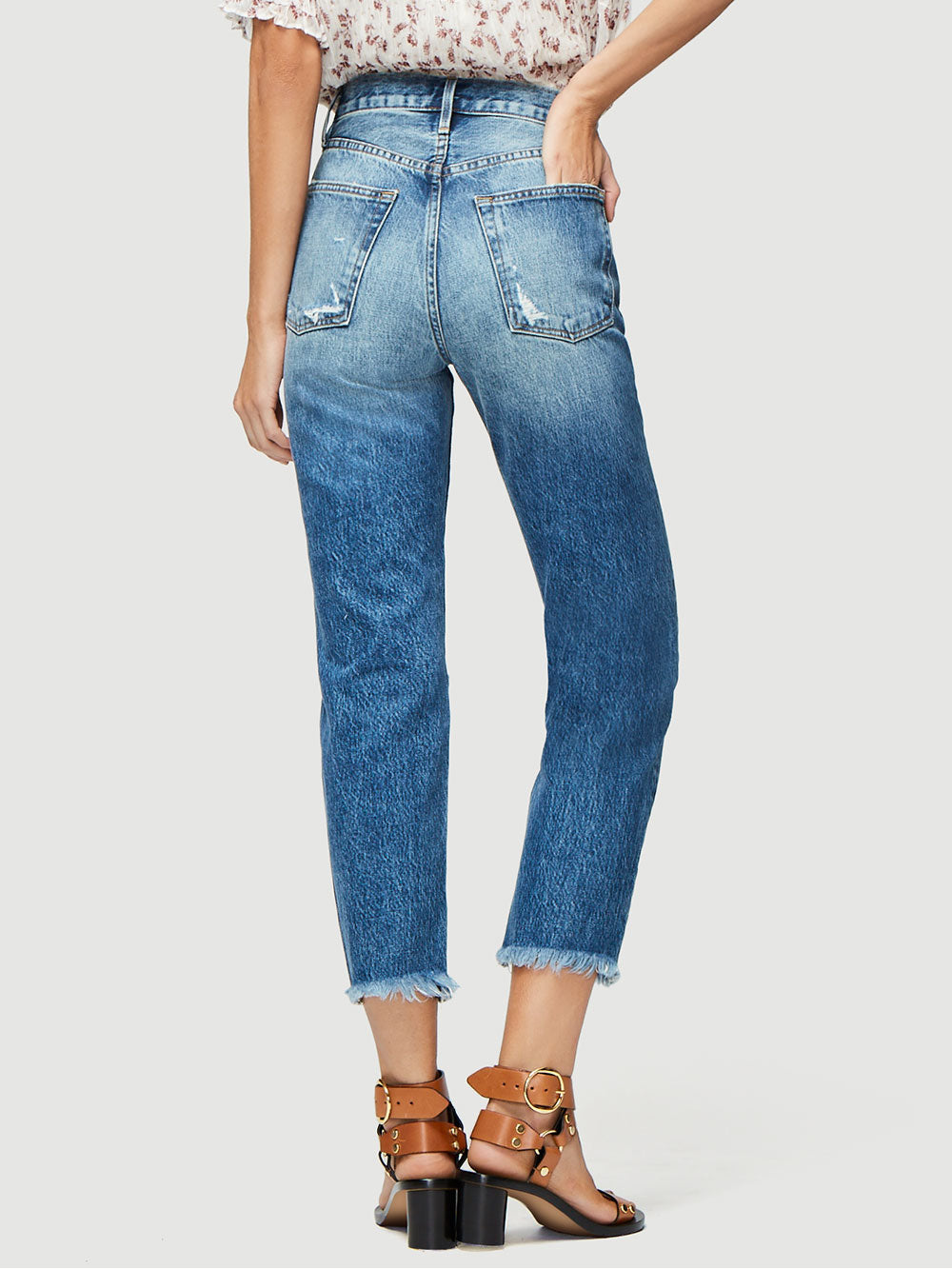 c93dd265a621 Style Runs Small – Recommend Ordering One Size Up. Vintage Inspired, This  High-Rise Jean Is A Cult Favorite. Crafted From Premium Non-Stretch Denim,  ...