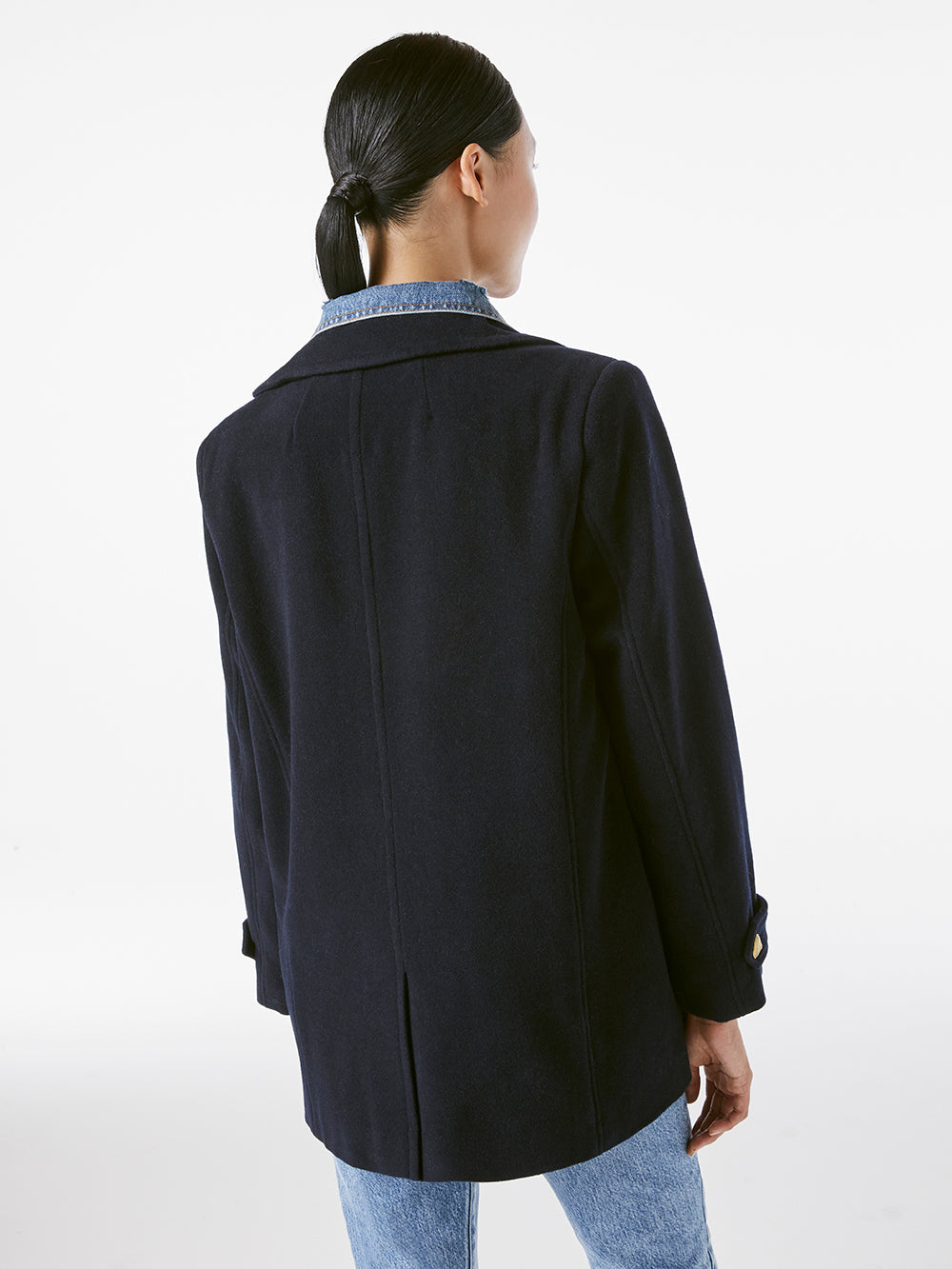 Denim Mix Peacoat -- Navy